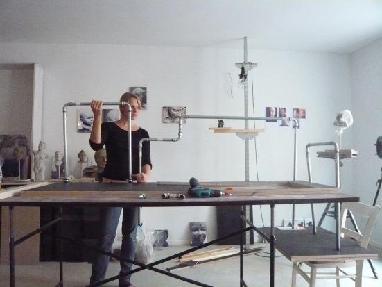 Prototypenbau im Atelier