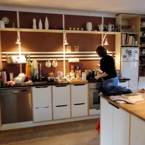 Küche - in Betrieb :)