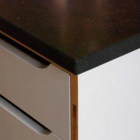 Küche - Materialkombination