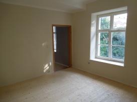 Kinderzimmer - Holzboden geseift, Kreidefarbe
