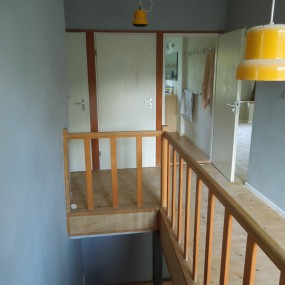 Treppe - Farbakzente