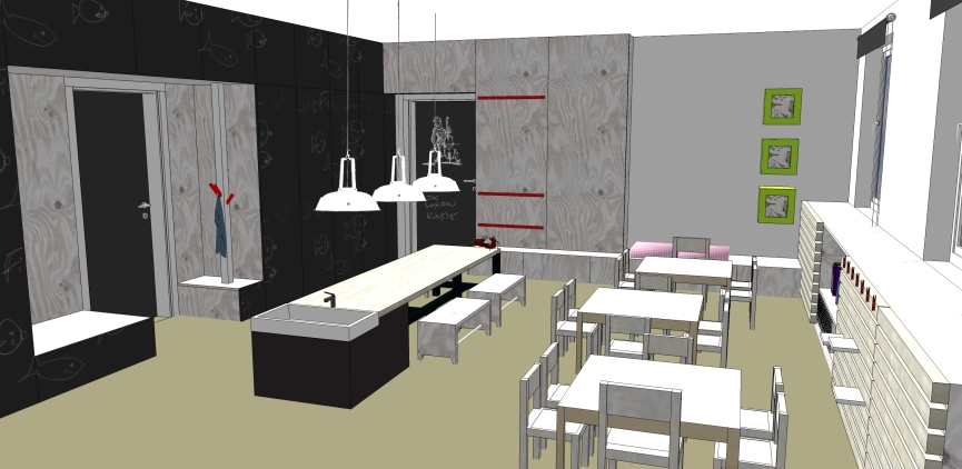 Kita Spielatelier Atelier-Raum (Ü3)