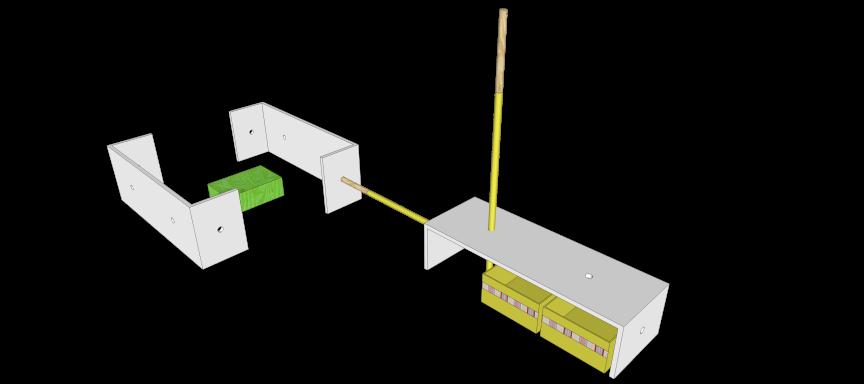 KIKADO BauSpielsystem U-Modul