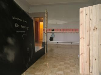 Eingang Garderobe
